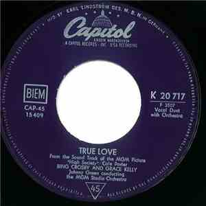 Bing Crosby - True Love / Well Did You Evah?