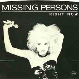 Missing Persons - Right Now
